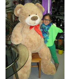 Jumbo Love Brown Teddy Bear