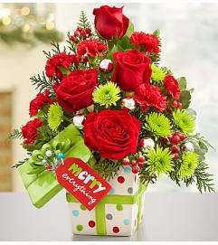 Merry Everything™ Present Bouquet