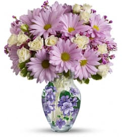Teleflora's Very Violet Bouquet