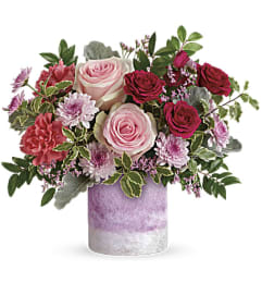 Teleflora's Washed In Pink Bouquet