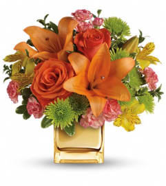 Teleflora's Tropical Punch Bouquet