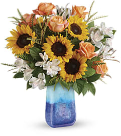 Teleflora's Sunflower Beauty Bouquet