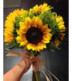 Simply Sunflowers Bridal Bouquet