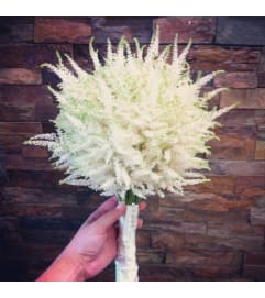 White Veronica Bouquet