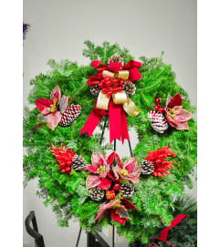 Florist Designed Christmas Wreath