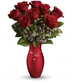 Teleflora's All My Heart Bouquet - Red Roses