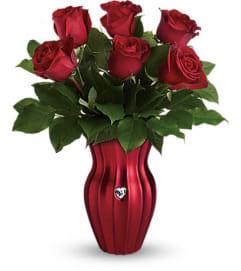 Teleflora's Heart Of A Rose Bouquet