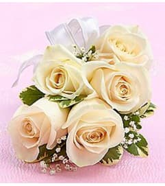 White Rose Corsage *PICK UP ONLY*