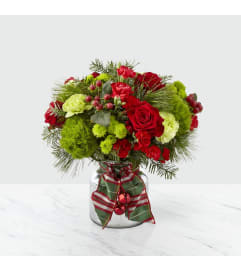 The FTD® Jingle Bells™ Bouquet