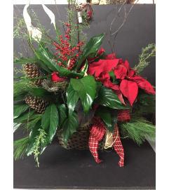 Holiday Planter Baskets