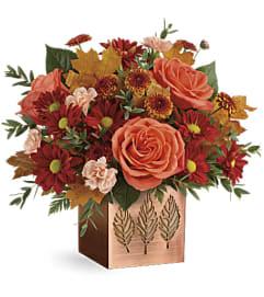 Teleflora's Copper Petals Bouquet