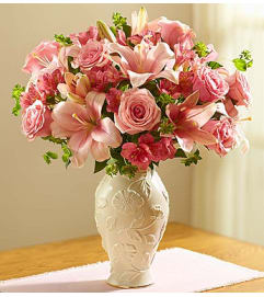 Loving Blooms in Lenox® Pink