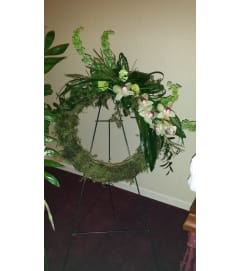 MOSSY GREEN WREATH