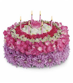 Your Special Day Floral Cake