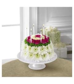 Wonderful Wish Floral Cake
