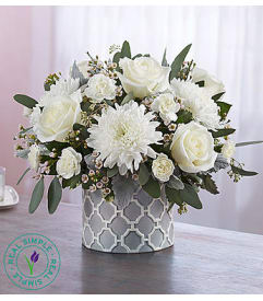 Charlotte nc florist free flower delivery in charlotte nc modern purity by real simple mightylinksfo