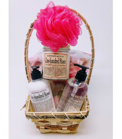 Rose Romance Spa Basket