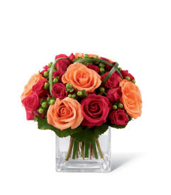 Orange flowers cardinal flowers gulfport ms florist the ftd deep emotions rose bouquet mightylinksfo