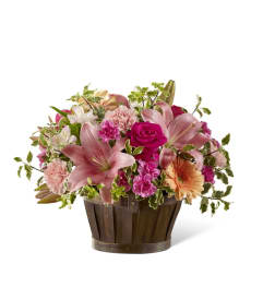 Hillcrest florist free flower delivery in richmond hill on the ftd spring garden basket mightylinksfo