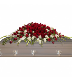 Grand Garden Casket Spray