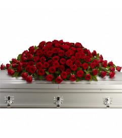 The Greatest Love of All Casket Spray