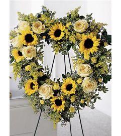 You are My Sunshine Wreath