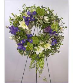 European Garden Wreath