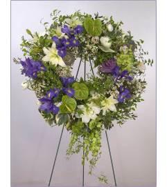 European Garden Wreath