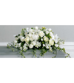 Endless Elegance Casket Spray