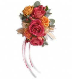 Sunset Wrist Corsage  Call for $10 DISCOUNT FOR PICK