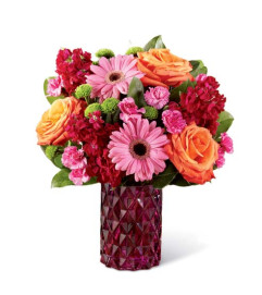 BRIGHTLY BEJEWELED BOUQUET