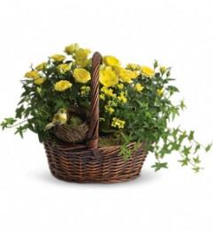 Springtime Garden Basket