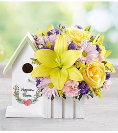 Blooming Birdhouse