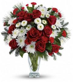 Teleflora's Winter Kisses Bouquet
