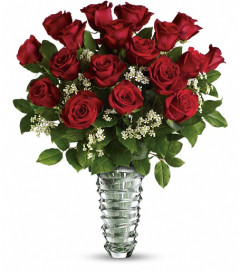 Teleflora's Beautiful Bouquet - Long Stemmed Roses