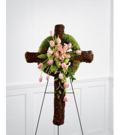 The FTD® Loveliness™ Celtic Cross
