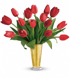 Tempt Me Tulips Bouquet by Teleflora