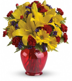 Teleflora's Let's Celebrate Bouquet