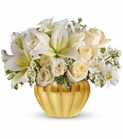 Teleflora's Touch of Gold