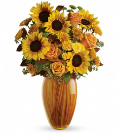 Teleflora's Golden Sunset Bouquet