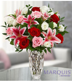 Marquis by Waterford® Red Rose and Lily