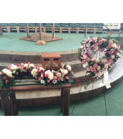 heart and urn funeral package