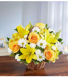 Peace, Prayers and Blessings™ - Yellow and White
