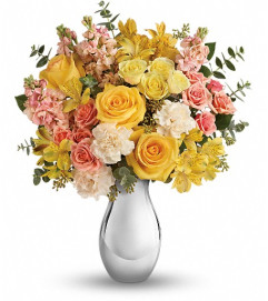 Teleflora's Soft Reflections Bouquet