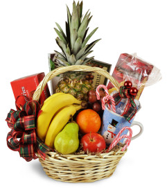 Bountiful Holiday Gift Basket