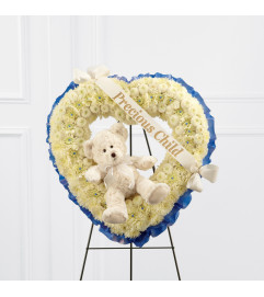 The FTD® Precious Child™ Standing Heart