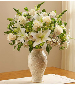 Loving Blooms in Lenox® All White