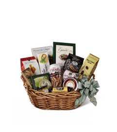 The FTD® Warmth & Comfort™ Gourmet Basket