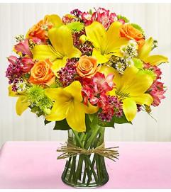 Vase Arrangement for Sympathy