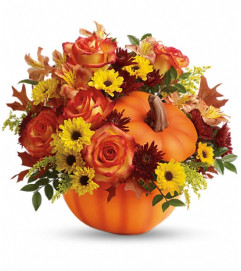 Teleflora's Warm Fall Wishes Bouquet